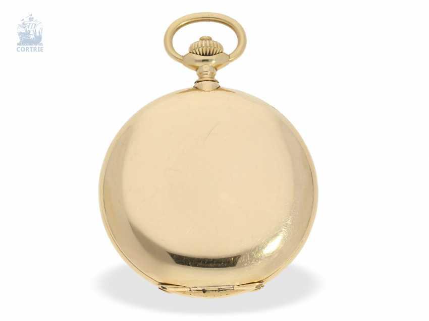 """Taschenuhr: besonders schweres und hochfeines Ankerchronometer, Vacheron & Constantin, Genève, """"Half-Chronometer"""" No.357629, ac 1904 - photo 6"""