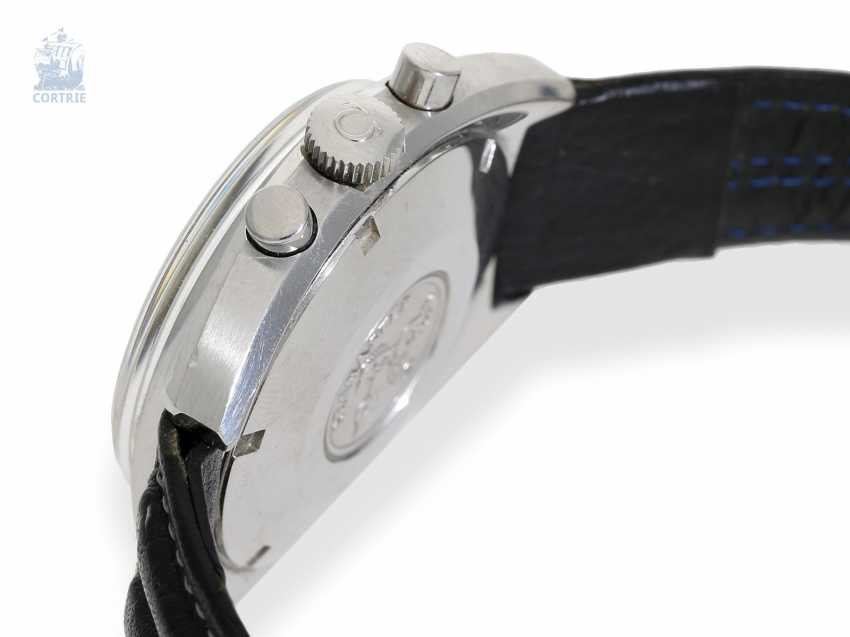 """Watch: wanted, great vintage Omega Chronograph Seamaster """"Reverse Panda"""" Ref.145.016-68 of 1968, excellent condition - photo 4"""