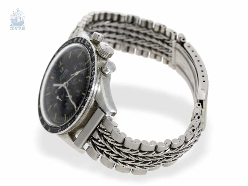 """Watch: Omega rare Speedmaster reference 105.003-63 """"Ed White"""" is 1. Hand Built In 1963 - photo 3"""