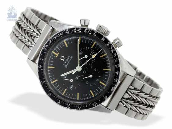 """Watch: Omega rare Speedmaster reference 105.003-63 """"Ed White"""" is 1. Hand Built In 1963 - photo 6"""