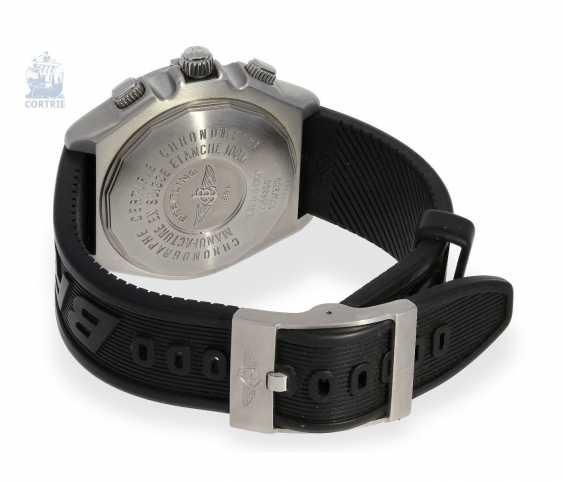 """Armbanduhr: seltener, limitierter Breitling Chronograph, Crosswind """"Special"""" Chronometer A44355I2/B666 No.186/250, limitiert auf 250 Exemplare, mit Box und Papieren - photo 3"""