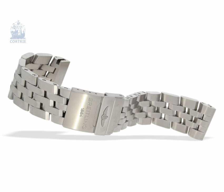 """Armbanduhr: seltener, limitierter Breitling Chronograph, Crosswind """"Special"""" Chronometer A44355I2/B666 No.186/250, limitiert auf 250 Exemplare, mit Box und Papieren - photo 6"""