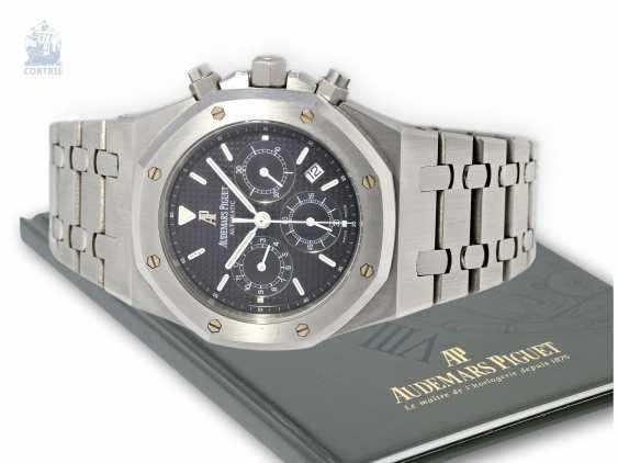 Wrist watch: high quality Chronograph with original papers, Audemars Piguet Royal Oak Ref. 25680St/O/1110ST/01. 2005 - photo 1