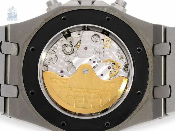 Wrist watch: high quality Chronograph with original papers, Audemars Piguet Royal Oak Ref. 25680St/O/1110ST/01. 2005 - photo 7
