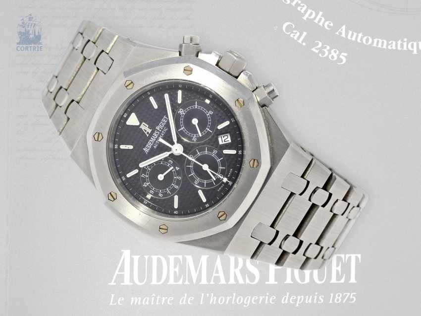 Wrist watch: high quality Chronograph with original papers, Audemars Piguet Royal Oak Ref. 25680St/O/1110ST/01. 2005 - photo 8