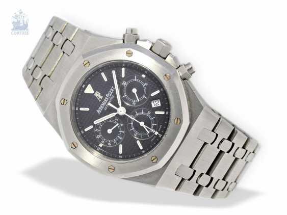 Wrist watch: high quality Chronograph with original papers, Audemars Piguet Royal Oak Ref. 25680St/O/1110ST/01. 2005 - photo 9