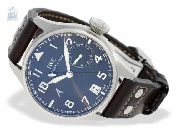 """Watch: IWC big pilot's watch with 8-day power reserve, """"Big Pilot's Antoine De Saint Exupery"""" Ref. IW500422 Limited, No. 0584/1149, with original box - photo 3"""