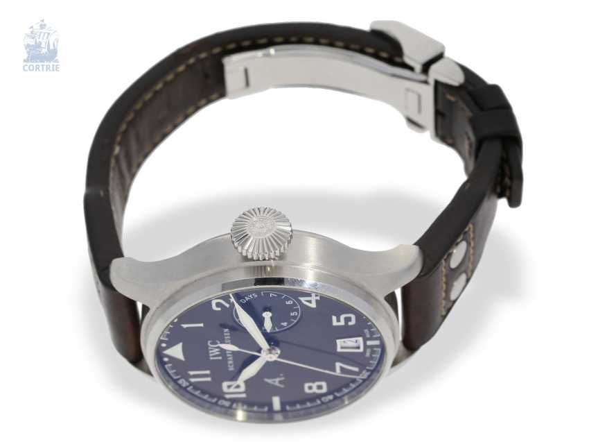 """Watch: IWC big pilot's watch with 8-day power reserve, """"Big Pilot's Antoine De Saint Exupery"""" Ref. IW500422 Limited, No. 0584/1149, with original box - photo 6"""