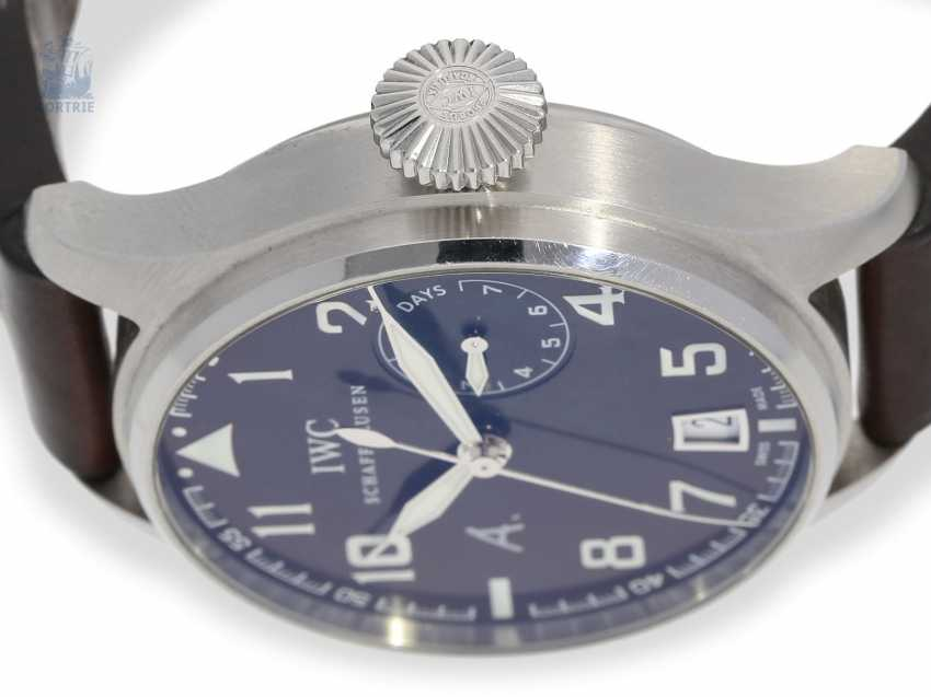 """Watch: IWC big pilot's watch with 8-day power reserve, """"Big Pilot's Antoine De Saint Exupery"""" Ref. IW500422 Limited, No. 0584/1149, with original box - photo 9"""