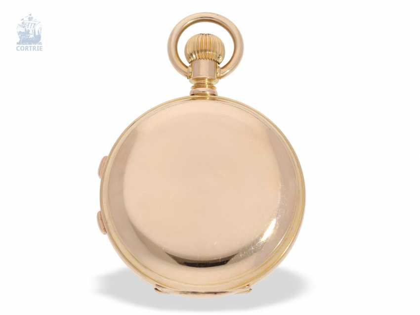 Pocket watch: extremely rare, Museum-like Audemars Piguet Anchor chronometer with split-seconds chronograph, the earliest known Audemars caliber of this type, No. 3331 of 1888 Piguet, with expert advice from Philip Poniz - photo 2