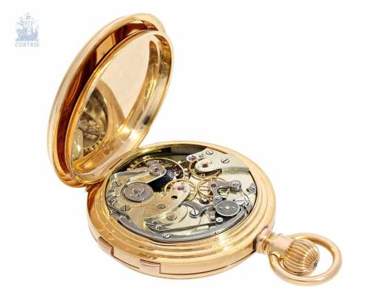 Pocket watch: extremely rare, Museum-like Audemars Piguet Anchor chronometer with split-seconds chronograph, the earliest known Audemars caliber of this type, No. 3331 of 1888 Piguet, with expert advice from Philip Poniz - photo 3