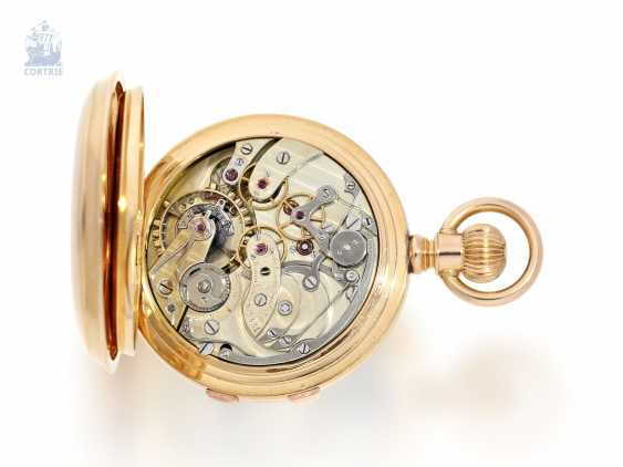 Pocket watch: extremely rare, Museum-like Audemars Piguet Anchor chronometer with split-seconds chronograph, the earliest known Audemars caliber of this type, No. 3331 of 1888 Piguet, with expert advice from Philip Poniz - photo 4