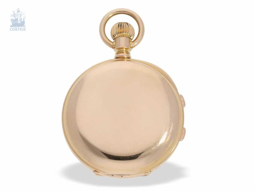 Pocket watch: extremely rare, Museum-like Audemars Piguet Anchor chronometer with split-seconds chronograph, the earliest known Audemars caliber of this type, No. 3331 of 1888 Piguet, with expert advice from Philip Poniz - photo 5