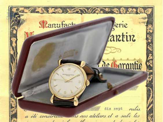 Watch: ultra-fine men's watch with original box and original certificate, Vacheron & Constantin Ref.4649, Geneva, 1948 - photo 3