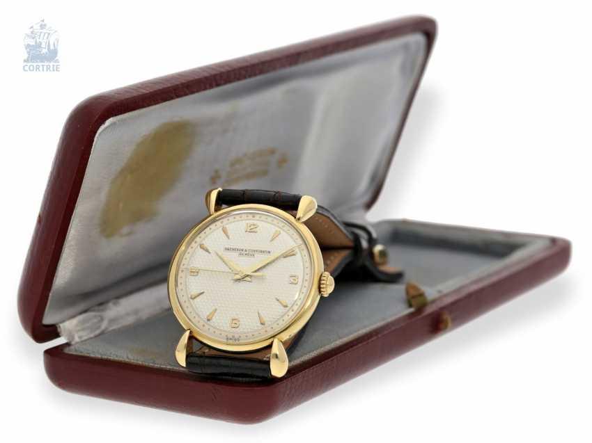 Watch: ultra-fine men's watch with original box and original certificate, Vacheron & Constantin Ref.4649, Geneva, 1948 - photo 4