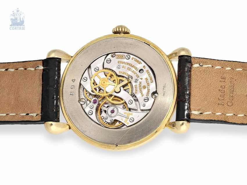 Watch: ultra-fine men's watch with original box and original certificate, Vacheron & Constantin Ref.4649, Geneva, 1948 - photo 6