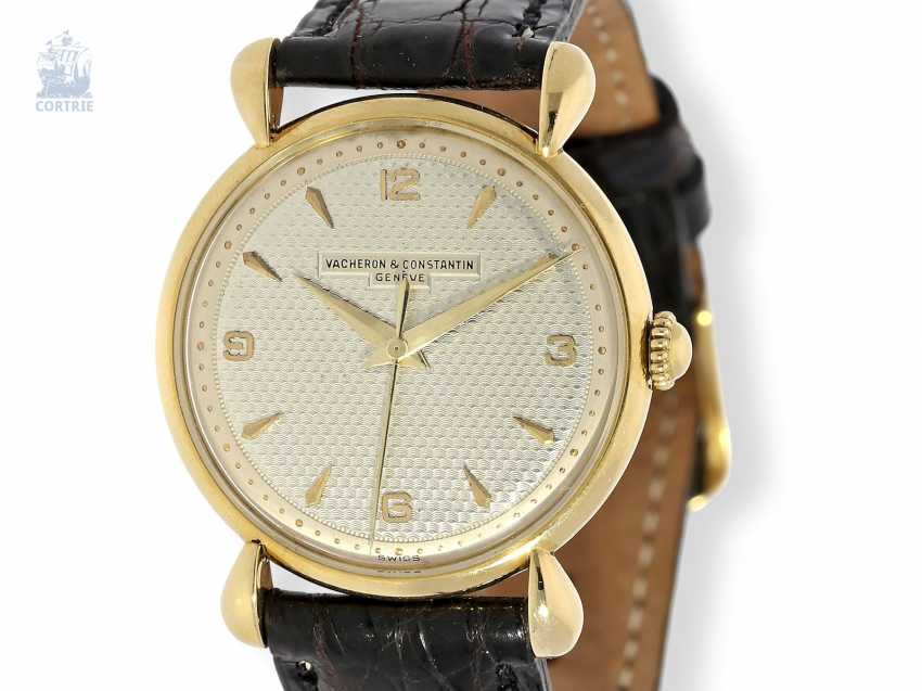 Watch: ultra-fine men's watch with original box and original certificate, Vacheron & Constantin Ref.4649, Geneva, 1948 - photo 8