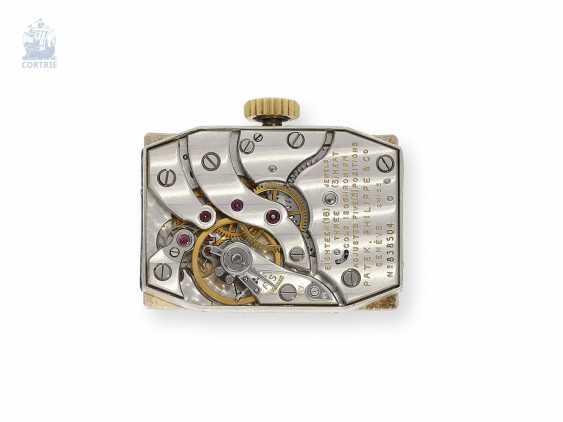 Watch: elegant, rare Patek Philippe men's watch with pyramid glass, Ref. 425, Geneva, 1945, very good condition - photo 5