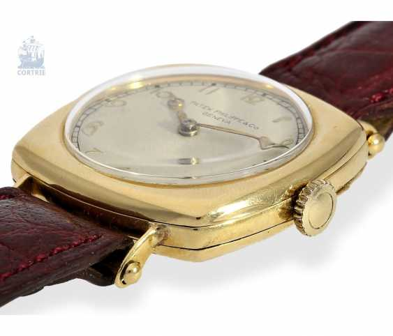 """Watch: Patek Philippe rarity, one of the earliest Patek Philippe watches """"Cushion-Shape"""" 18K Gold, Geneva, in 1908, with the master excerpt from the book - photo 3"""