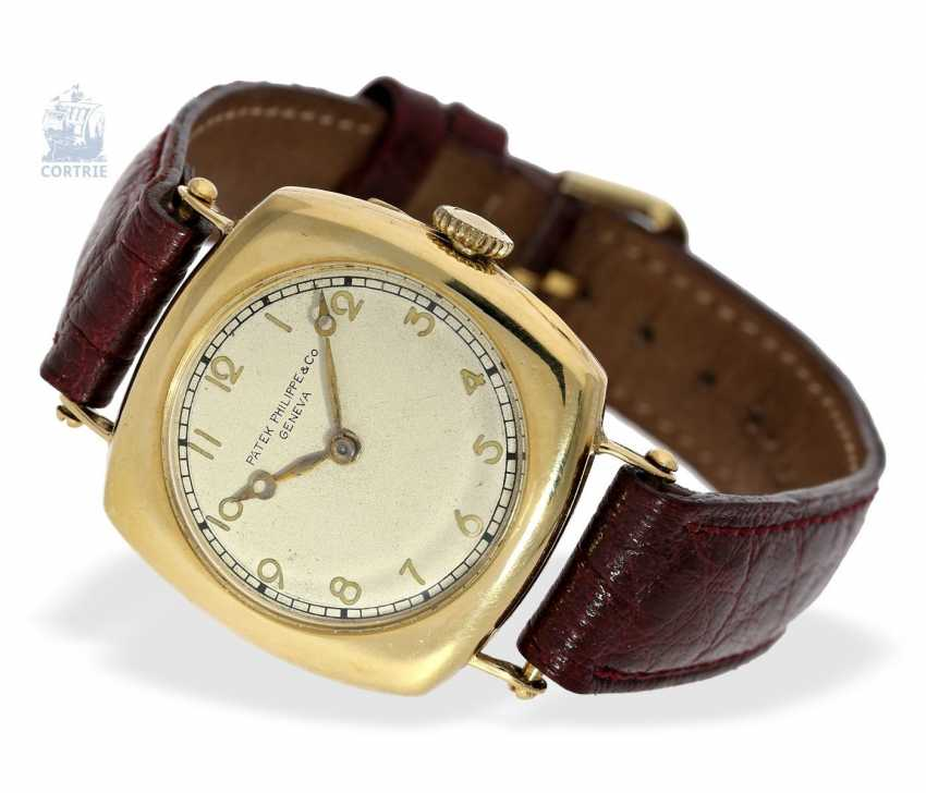 """Watch: Patek Philippe rarity, one of the earliest Patek Philippe watches """"Cushion-Shape"""" 18K Gold, Geneva, in 1908, with the master excerpt from the book - photo 5"""
