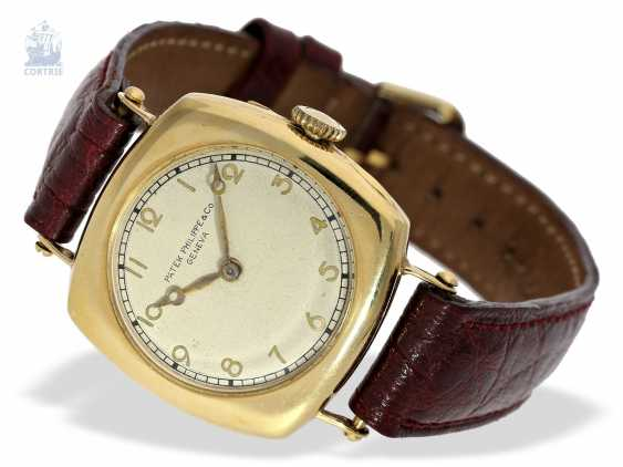 """Watch: Patek Philippe rarity, one of the earliest Patek Philippe watches """"Cushion-Shape"""" 18K Gold, Geneva, in 1908, with the master excerpt from the book - photo 6"""
