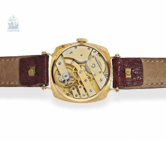 """Watch: Patek Philippe rarity, one of the earliest Patek Philippe watches """"Cushion-Shape"""" 18K Gold, Geneva, in 1908, with the master excerpt from the book - photo 7"""
