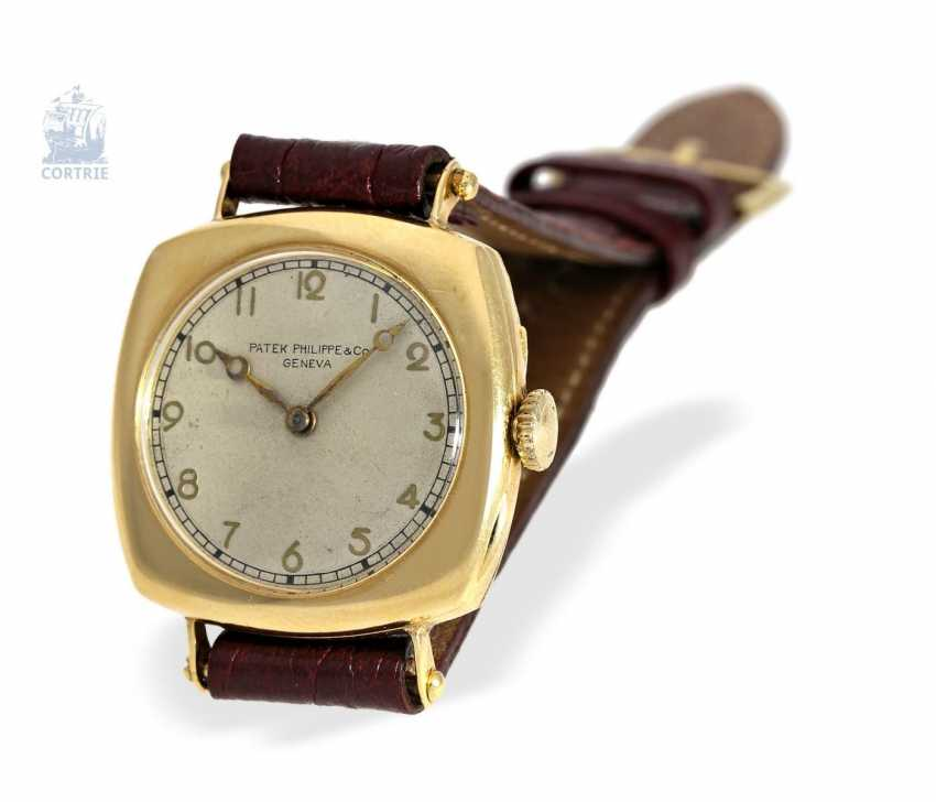 """Watch: Patek Philippe rarity, one of the earliest Patek Philippe watches """"Cushion-Shape"""" 18K Gold, Geneva, in 1908, with the master excerpt from the book - photo 8"""