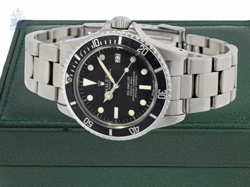 Watch: sought-after vintage Rolex Sea Dweller Ref. 1665 from 1978, posting 1. Hand - photo 1
