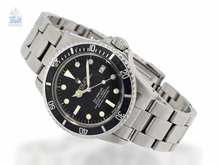 Watch: sought-after vintage Rolex Sea Dweller Ref. 1665 from 1978, posting 1. Hand - photo 5