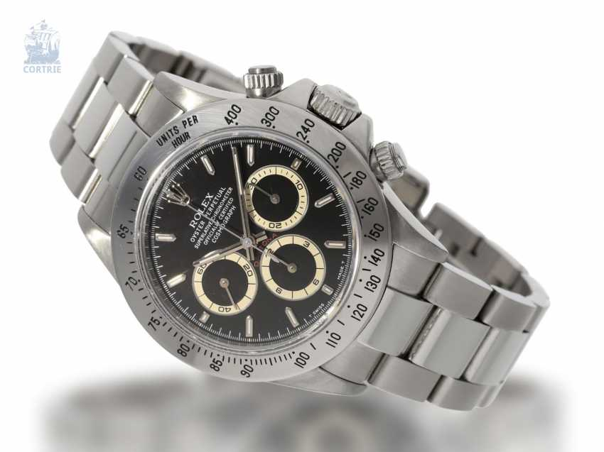 "Watch: sought-after vintage Rolex Cosmograph Daytona Ref. 16520, Zenith ""S-series"", 1993 - photo 1"