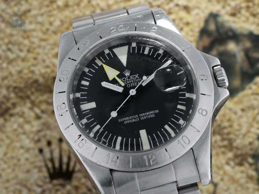 """Watch: Rolex Rare Explorer Ref. 1655 """"Steve McQueen"""" in the non-mounted state, worked from first owner, with Geneva original papers, 1978, and Box - photo 3"""
