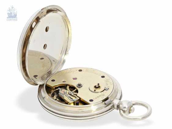 Pocket watch: rarity, K. U. K seconds Navy semi-Observation chronometer, brothers Klumak Vienna No. 4493, CA. 1875 - photo 2