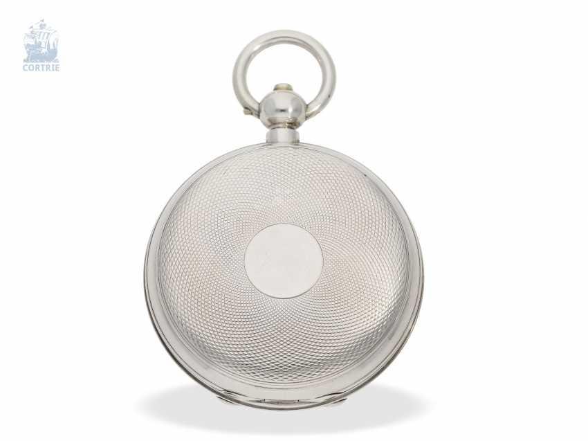Pocket watch: rarity, K. U. K seconds Navy semi-Observation chronometer, brothers Klumak Vienna No. 4493, CA. 1875 - photo 3