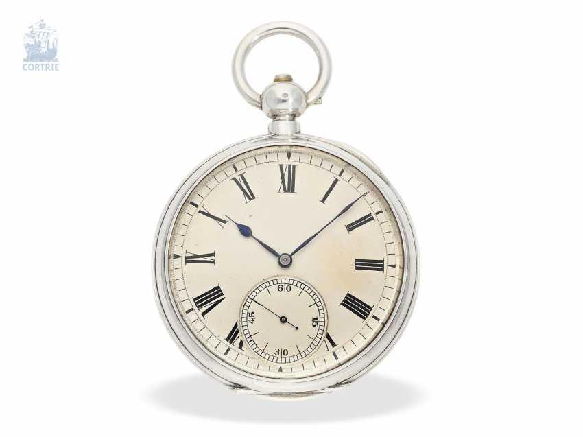Pocket watch: rarity, K. U. K seconds Navy semi-Observation chronometer, brothers Klumak Vienna No. 4493, CA. 1875 - photo 5