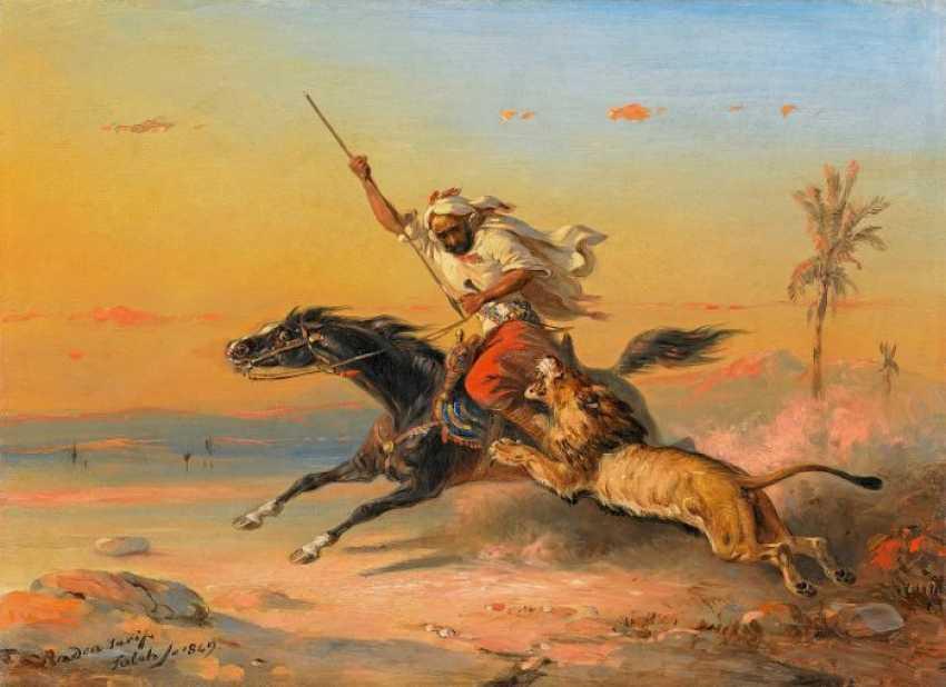 Saleh Ben Jaggia, Raden 1811 Samarang (Java) - 1880 Buitenzorg