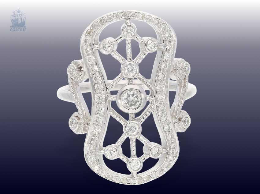 Ring: handmade, very unusual brilliant/Designer-goldsmith ring - photo 1