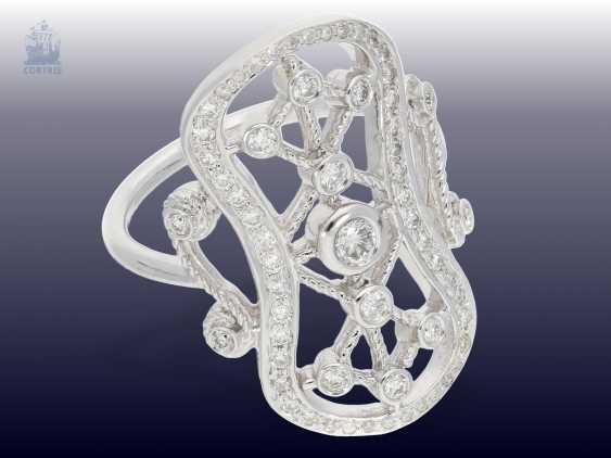 Ring: handmade, very unusual brilliant/Designer-goldsmith ring - photo 2