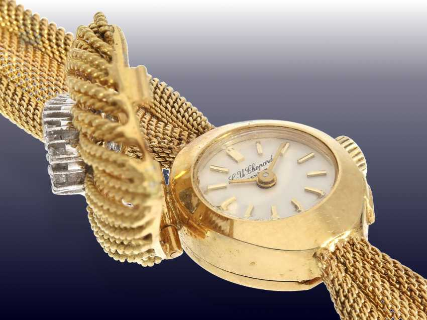 Watch: a very decorative and high quality Cocktail-women's watch by Chopard with brilliant trim, CA. 1950/60s - photo 3