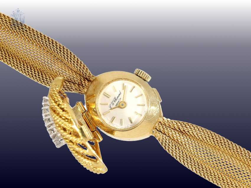 Watch: a very decorative and high quality Cocktail-women's watch by Chopard with brilliant trim, CA. 1950/60s - photo 4