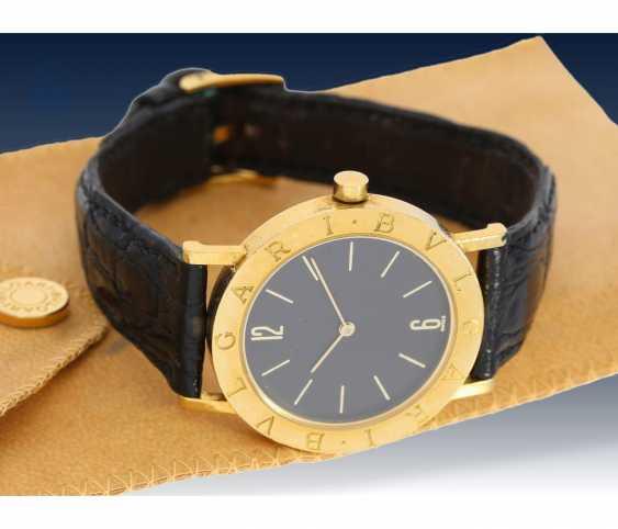 Watch: luxury mens watch, Bvlgari Ref. BB 33 GL-18K Gold - photo 1