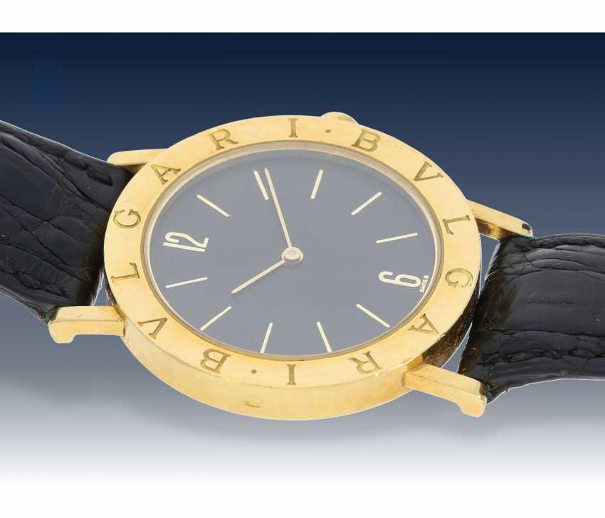 Watch: luxury mens watch, Bvlgari Ref. BB 33 GL-18K Gold - photo 2