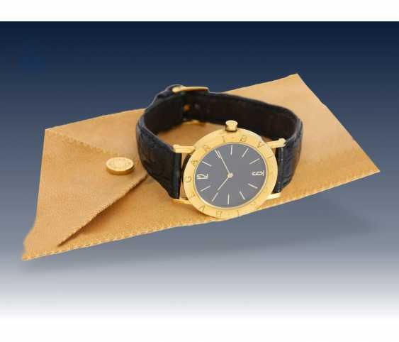 Watch: luxury mens watch, Bvlgari Ref. BB 33 GL-18K Gold - photo 3