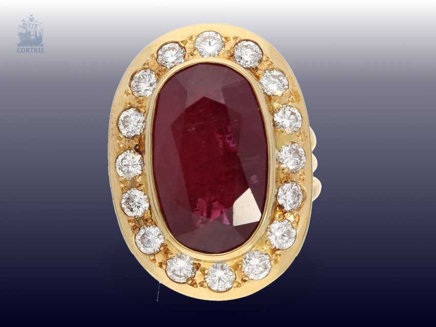 Chain/Ring/earrings/pendant: very high quality jewelry with rubies and brilliant-cut diamonds, a current value opinion for about 50.000€ - photo 3