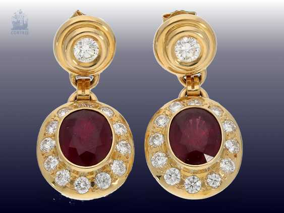 Chain/Ring/earrings/pendant: very high quality jewelry with rubies and brilliant-cut diamonds, a current value opinion for about 50.000€ - photo 5