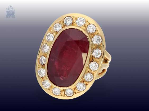 Chain/Ring/earrings/pendant: very high quality jewelry with rubies and brilliant-cut diamonds, a current value opinion for about 50.000€ - photo 6