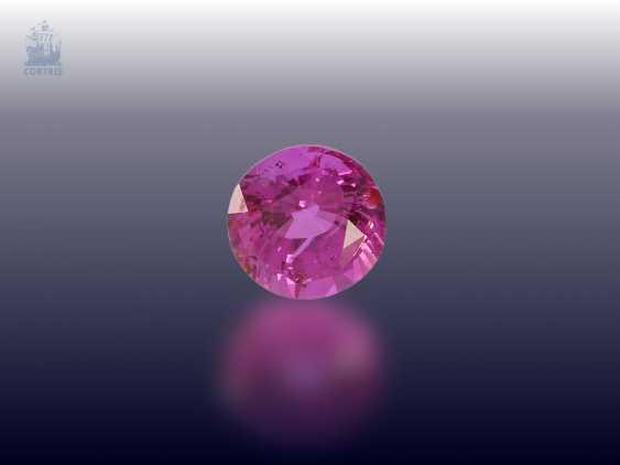 Sapphire: rare, pink sapphire 0.94 ct., Ceylon - photo 1