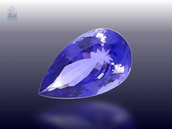 TansaniTiefe: äußerst wertvoller Tansanit in Spitzenqualität, 13,75ct - photo 1