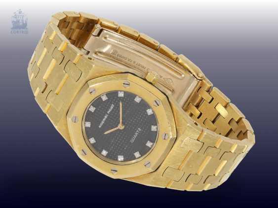 "Watch: luxury watch, Audemars Piguet, Geneve, ""Royal Oak Lady Diamond"", No. 2909, 1990s - photo 1"
