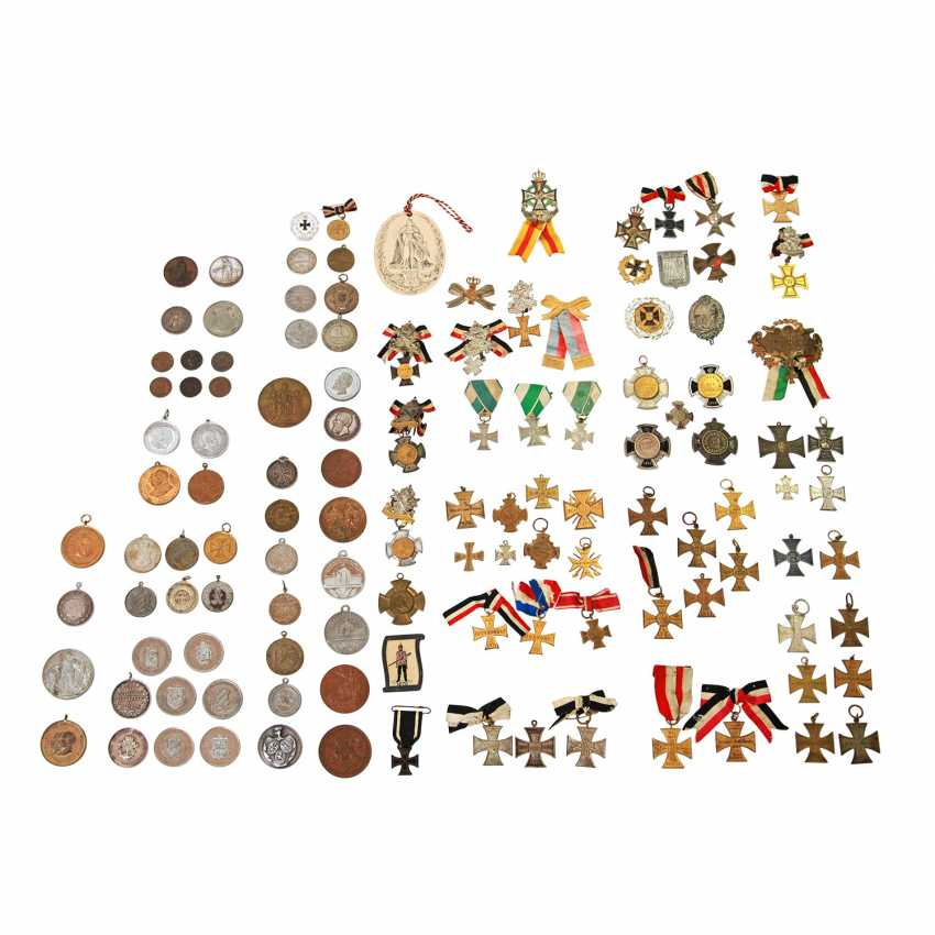 1870/71 German-French war Large Lot of various cities of medals, Crosses, and commemorative badges - photo 1