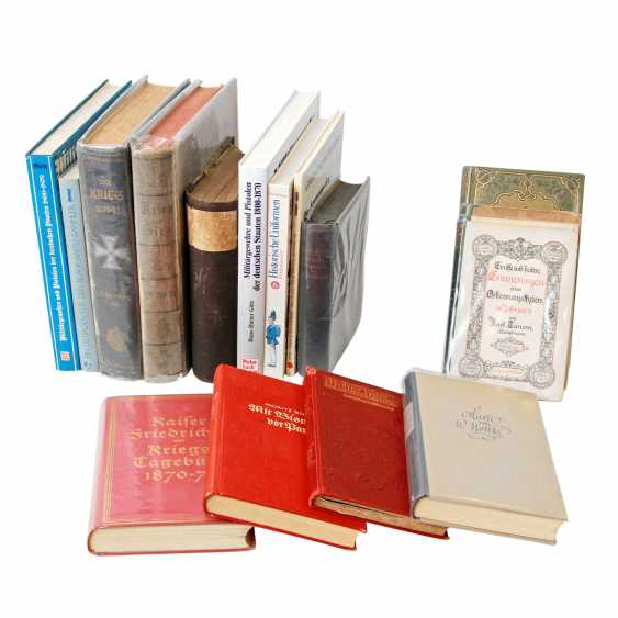1870/71 German-French war, books and books, some modern, - photo 1